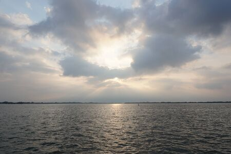 sunrises: sun bright Stock Photo