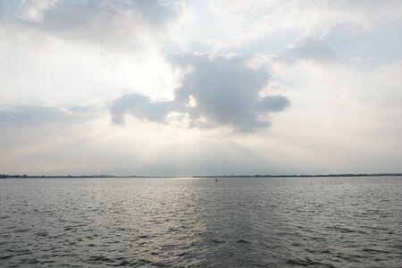 sunrises: behind the cloud