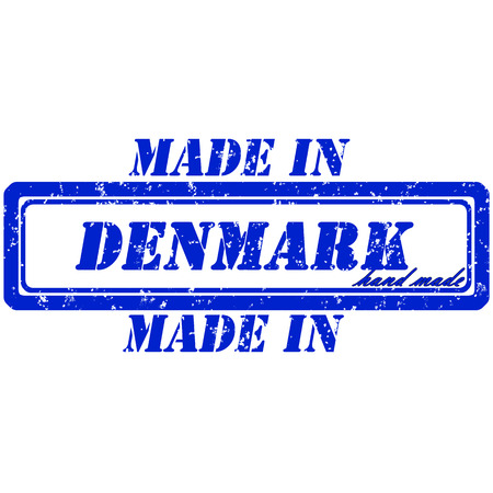rubber stamp denmark hand made made in