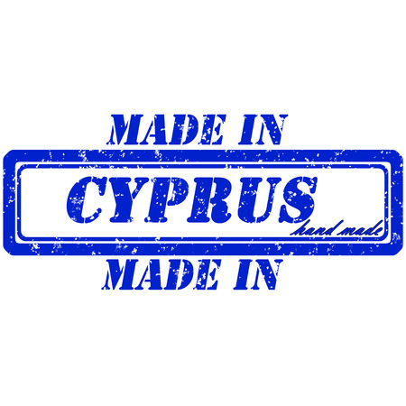 made in cyprus stamp hand made