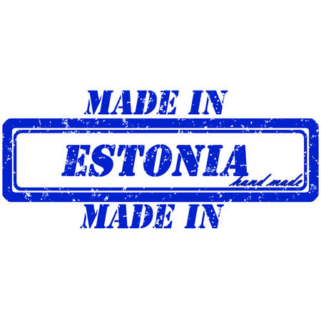 rubber stamp made in estonia hand made