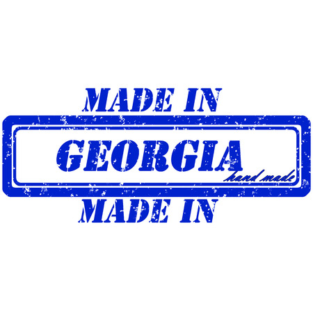 Rubber stamp made in georgia hand made