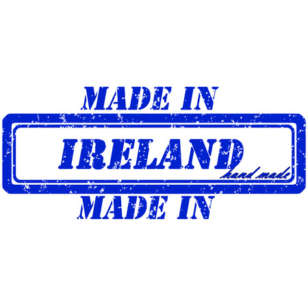 rubber stamp made in ireland hand made