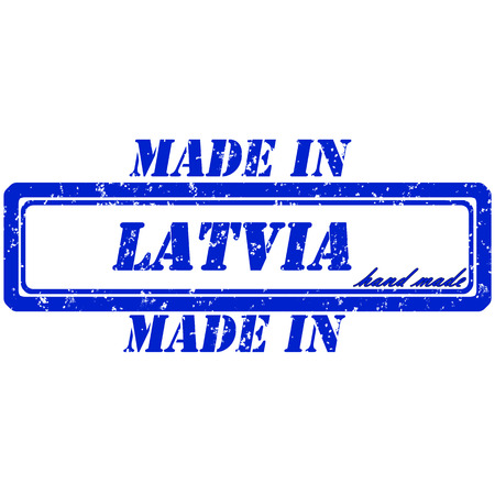 Rubber stamp made in latvia hand made