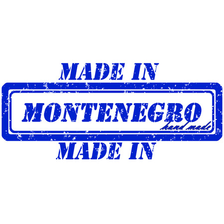 Rubber stamp made in montenogro hand made