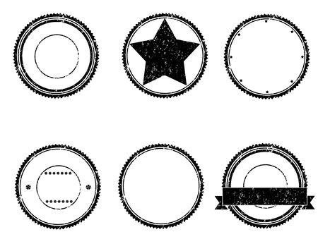 Set of grunge rubber stamps Illustration