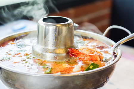 yum: tom yum goong hot pot