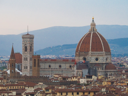 florence a romantic and popular city in Italy