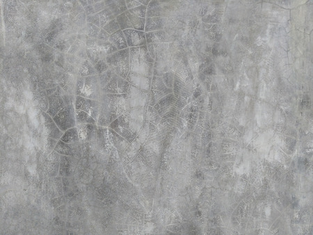 cracked wall: Grey concrete cracked wall, loft background