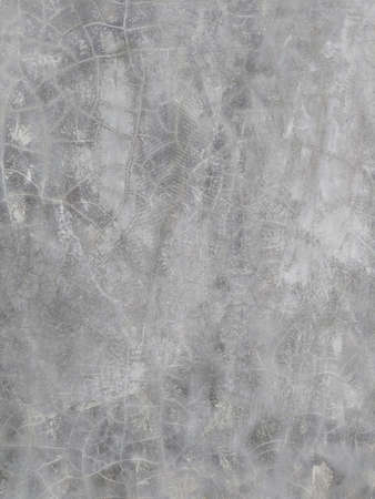 cracked wall: Vertical grey concrete cracked wall, loft background