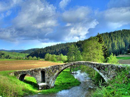 stoneworks: Old Roman bridge