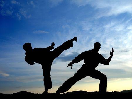 chuan: Martial arts                                Stock Photo