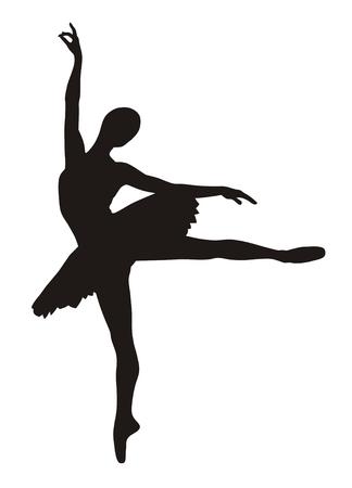 Ballerina Stock Vector - 3455836