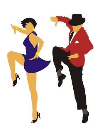 Latin American dance Stock Vector - 3455858