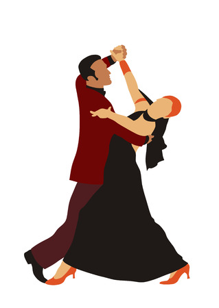 t�nzerinnen: Latin American Dance Illustration