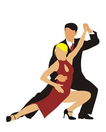 tango dance: Latin American dance