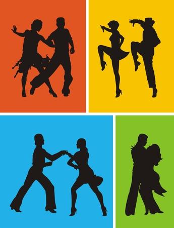Latin American dance Vector