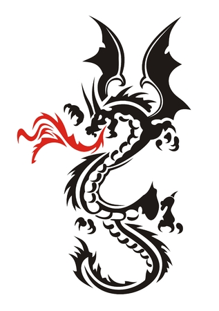 Dragon Stock Vector - 3819711