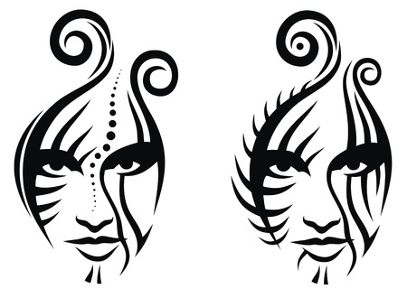 Traditional Tattoo Line Drawing : Skulls tattoo flash by punch line designs on deviantart
