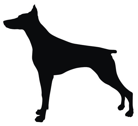 Abstract vector illustration of dog silhouette Stock Vector - 4507010