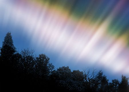 occurrence: Aurora Borealis or Northern Lights
