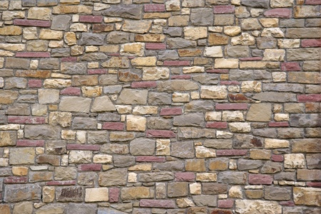 Stone wall texture for designers and 3d artists             Stock Photo - 8683416