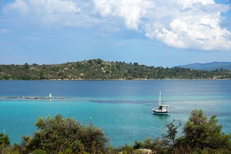 Vourvourou coast, Chalkidiki, Sitonia, Greece