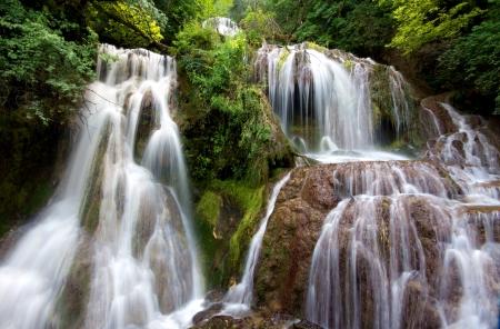 bulgaria: Krushunas waterfalls, located in Bulgaria are the longest waterfalls cascade on Balkan peninsula