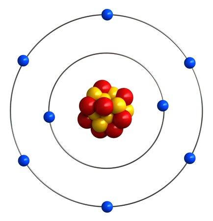 protons: 3d de la estructura at�mica del ox�geno