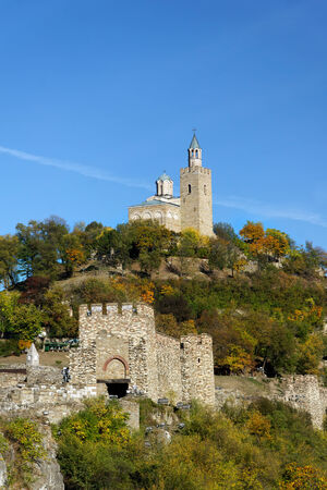 veliko: View from attractive town Veliko Tarnovo situated in Bulgaria Editorial