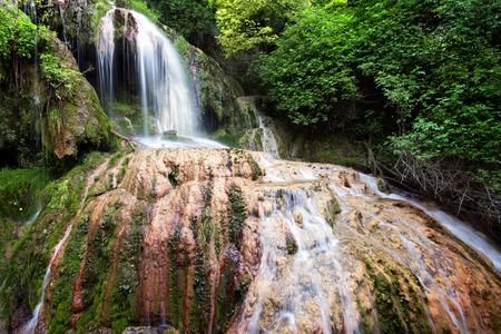 Krushunas waterfalls, located in Bulgaria are the longest waterfalls cascade on Balkan peninsula photo