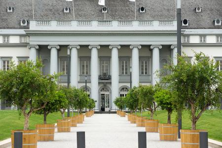 schloss: The Electoral Palace (German: Kurfürstliches Schloss) in Koblenz, Germany Editorial