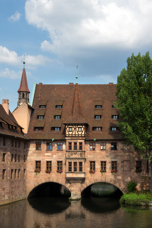 nuremberg: View from Nuenberg town Germany