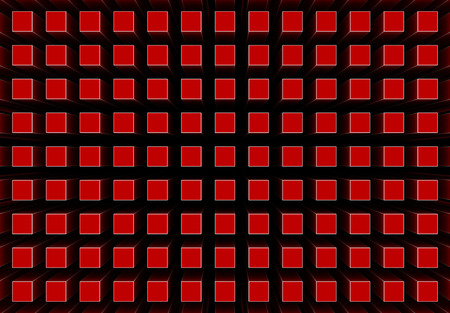 renderings: 3d renderings of an abstract background in red color
