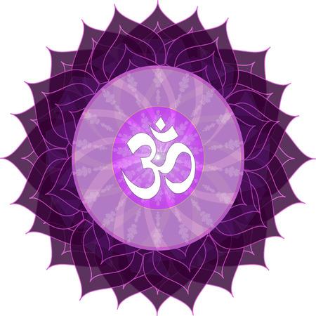 sahasrara: Sahasrara Chakra Symbol