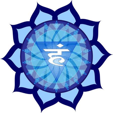 vishuddha: Vishuddha Chakra Symbol