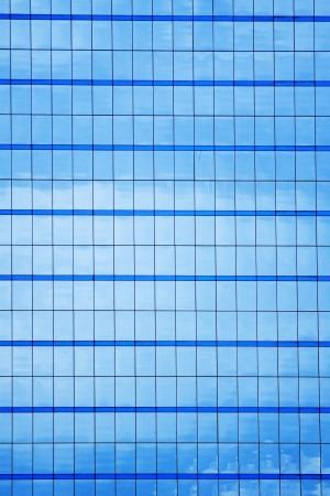 Window of a big building  photo