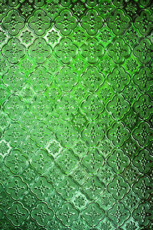 Seamless Green Glass texture background of bathroom concept photo