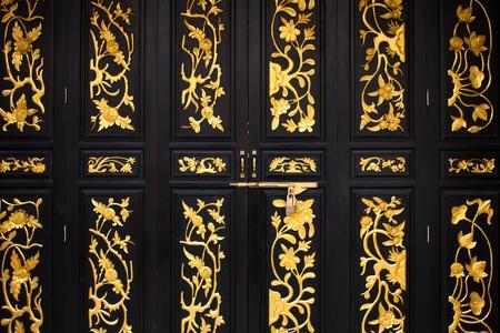Chinese Door Pattern Stock Photo - 12269365
