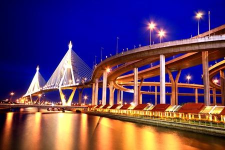 king of thailand: Thai Industrial ring bridge