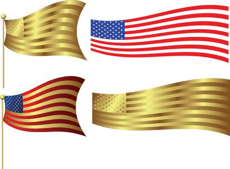 usa Banners Stock Vector - 3117780