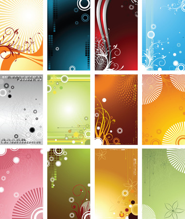 Graphic Design Backgrounds Vector