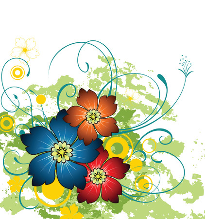 flore: Floral Background Illustration