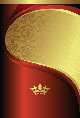 golden design background Vector