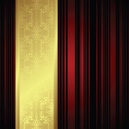 gold textured background: holiday background Illustration