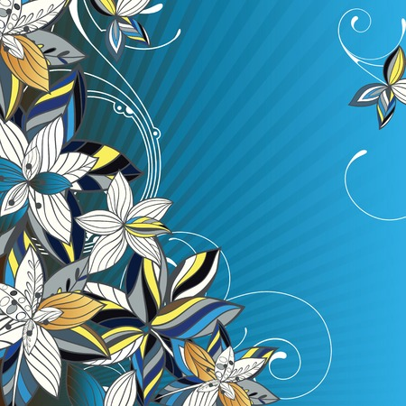 emit: elegance flower background