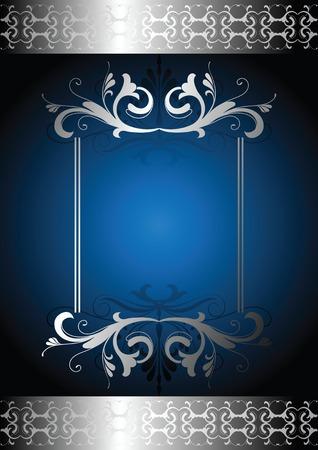elegance design frame Vector