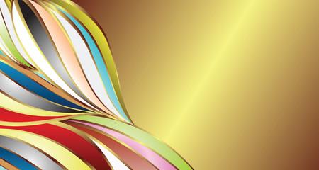holiday celebrations: modern design background Illustration