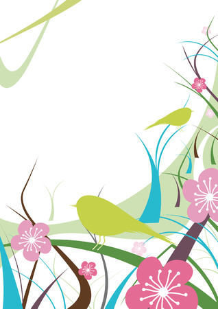 Floral Abstract 2 Vector
