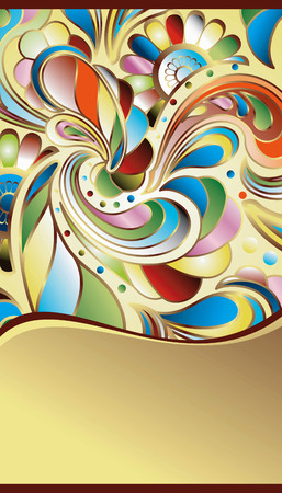 Abstract Colorful Background Stock Vector - 5507589